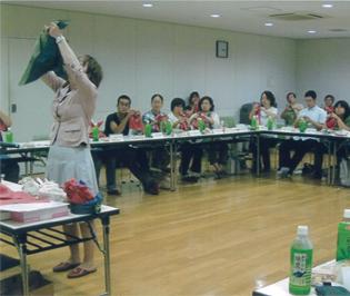 堺市の授産事業活性化セミナー【ラッピング協会】