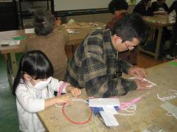 和紙と水引で作る祝儀袋体験講座