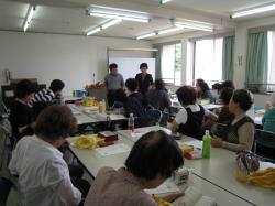 若草学級での講習【ラッピング協会】