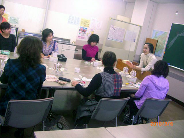 NHKカルチャーラッピング講習【ラッピング協会】