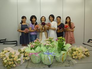 名古屋でフラワーラッピング集中認定クラスを実施【ラッピング協会】